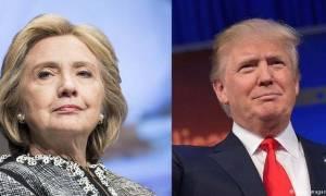 DW: «Σφαγή» Τραμπ-Κλίντον για τον Λευκό Οίκο