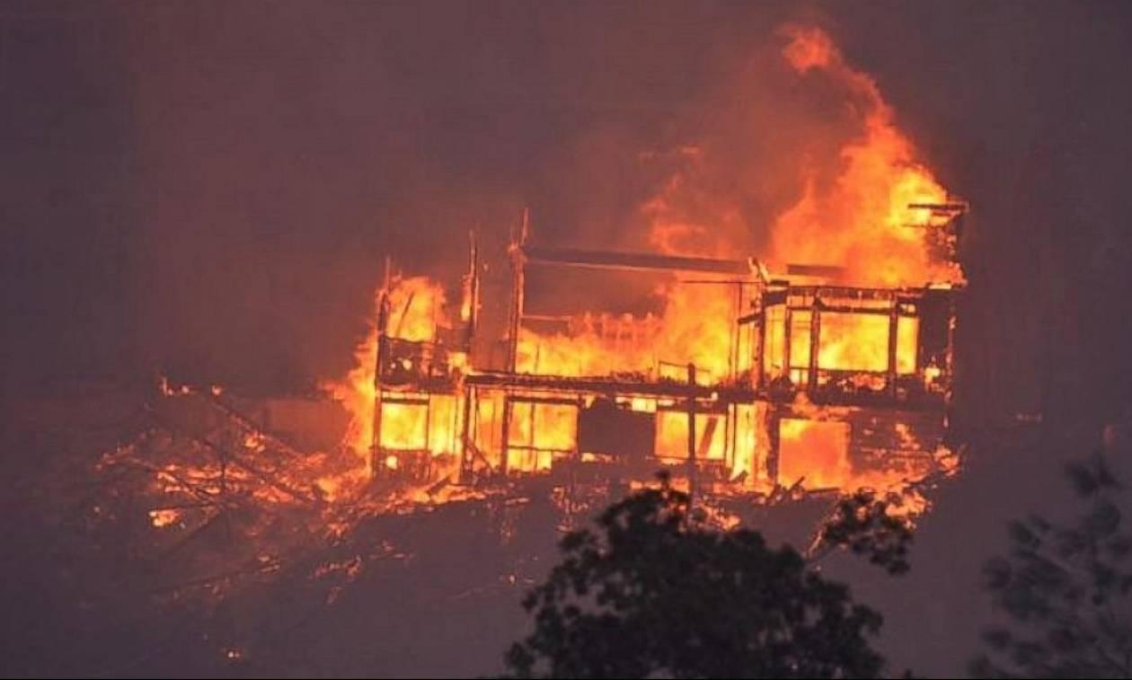 Καλιφόρνια: Μαίνεται η πύρινη λαίλαπα - Δύο νεκροί (pics)