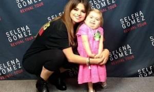 Η Selena Gomez χορεύει με 7χρονη θαυμάστριά της και συγκινεί