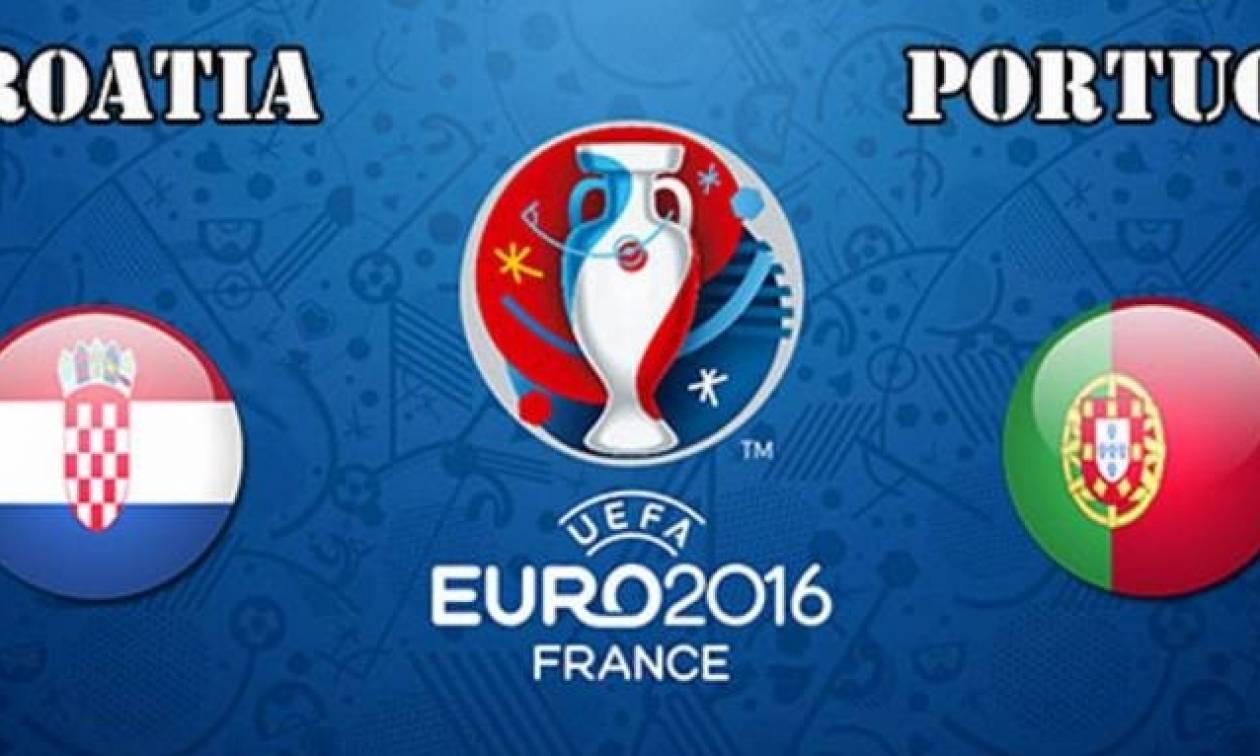 Euro 2016: Live Chat - Κροατία - Πορτογαλία