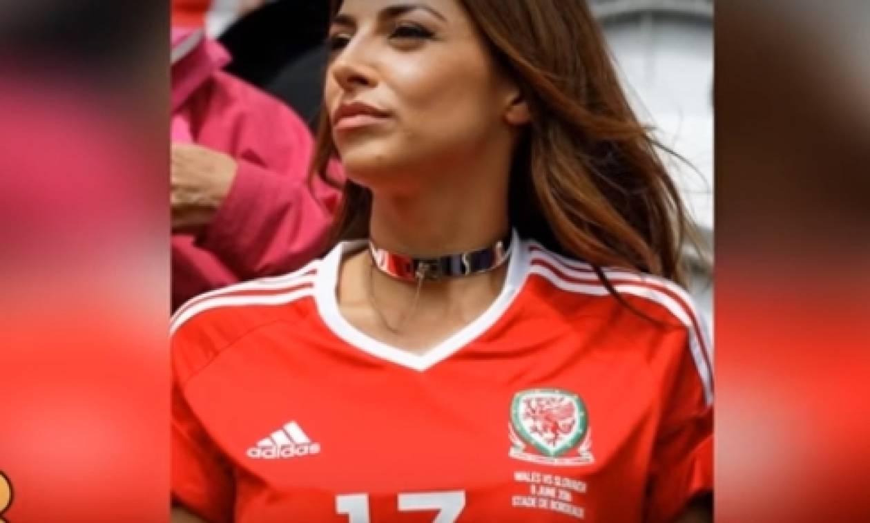 Τα πιο σέξι κορίτσια στα γήπεδα του Euro (Video)