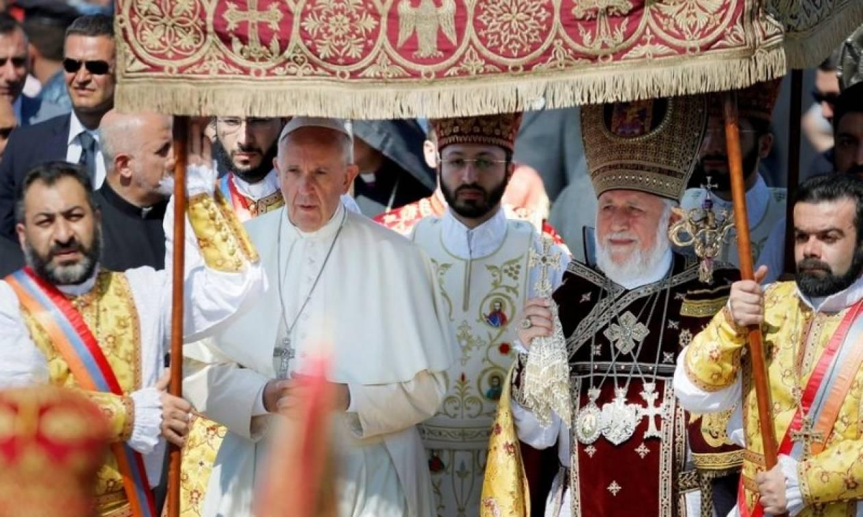 Ένταση Τουρκίας-Βατικανού: Για «νοοτροπία σταυροφοριών» κατηγορεί την Αγία Έδρα η Άγκυρα