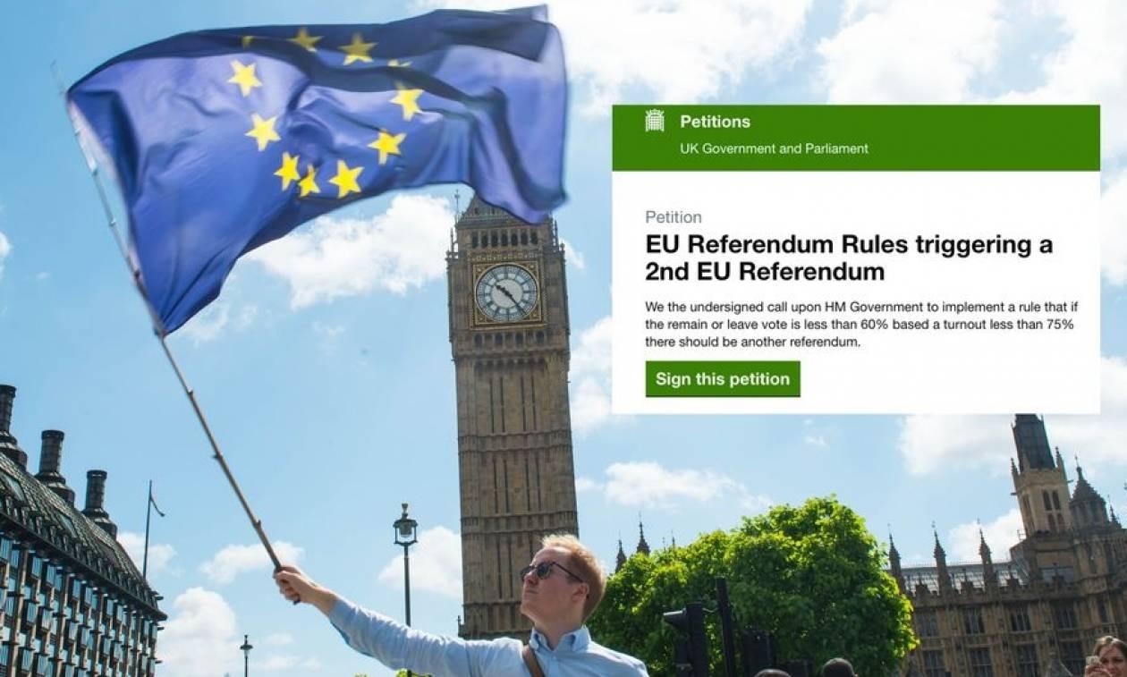 Brexit: Σε φιάσκο εξελίσσεται το αίτημα για το δεύτερο δημοψήφισμα