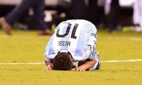 Σάλος στο twitter μετά την αποχώρηση του #Messi (photos)