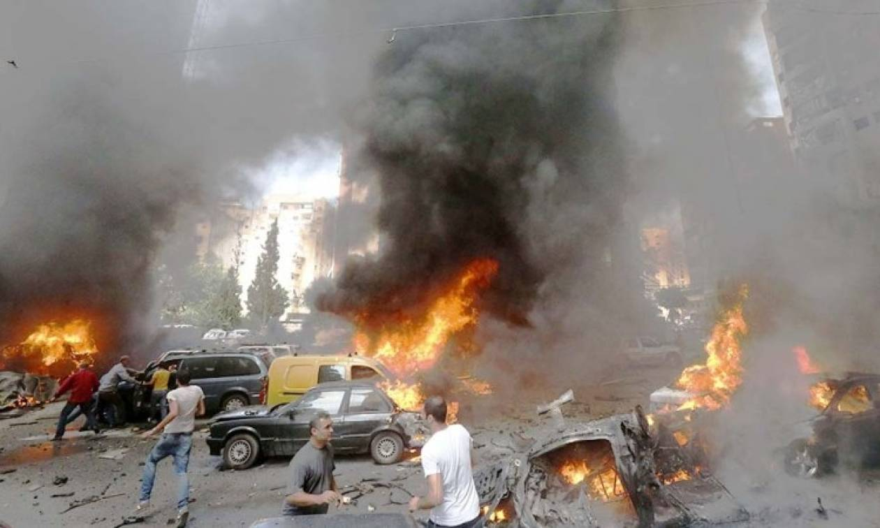 Bομβιστική επίθεση στον Λίβανο: Άμαχοι και στρατιώτες ανάμεσα στους νεκρούς (Vid)