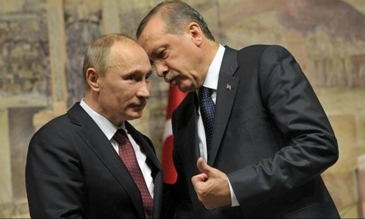 Ερντογάν σε Πούτιν: «Ζητώ συγγνώμη για την κατάρριψη του ρωσικού μαχητικού»