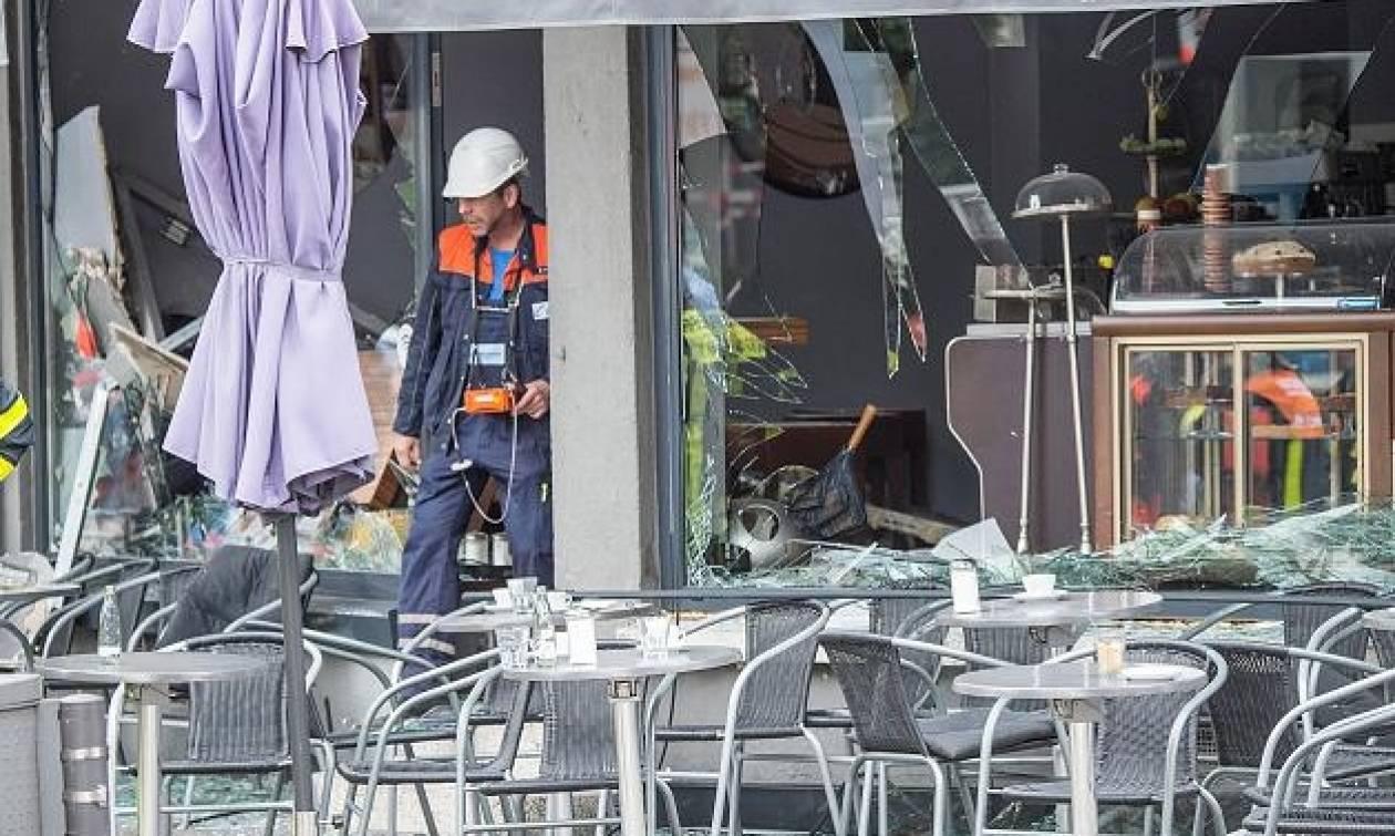 Ισχυρή έκρηξη σε καφετέρια στην Φρανκφούρτη (pics)