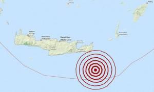 Σεισμός 4,3 Ρίχτερ νοτιοανατολικά της Κρήτης (pics)