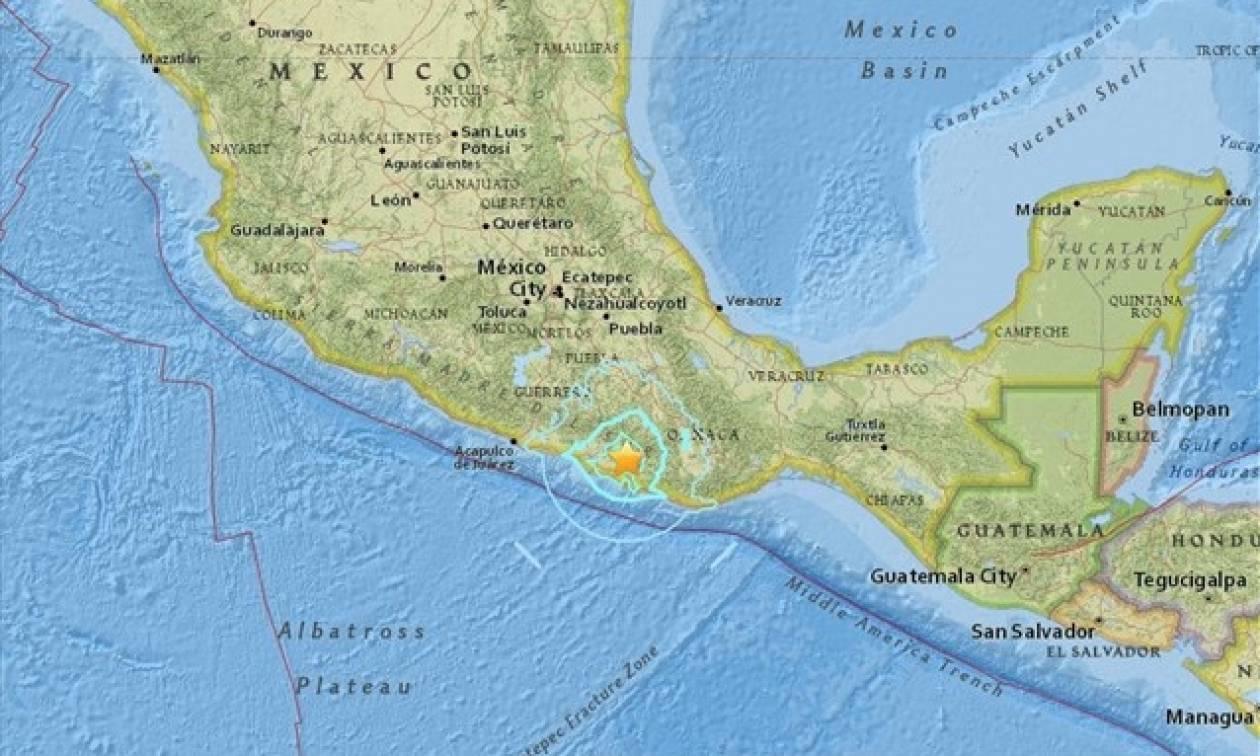 Μεξικό: Σεισμός 5,7 βαθμών Ρίχτερ στην Οαχάκα
