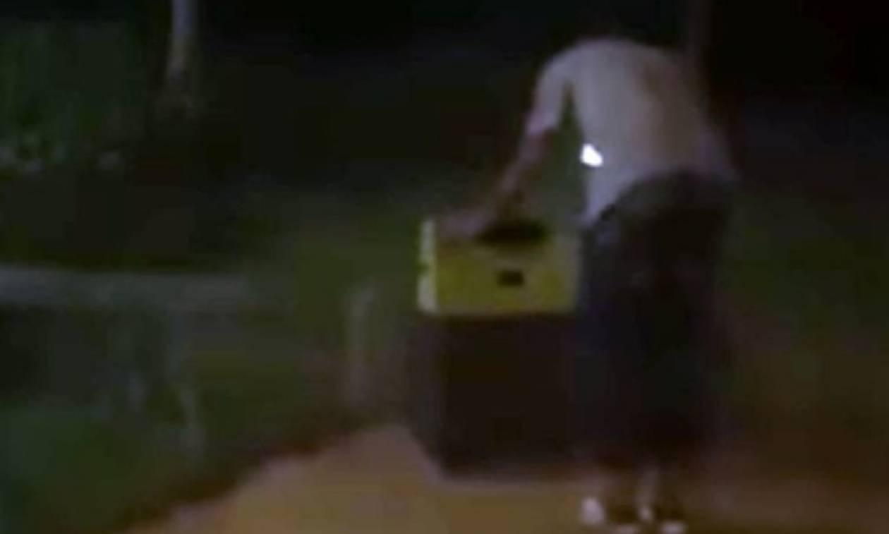 ΣΟΚ: Την βίασε επανειλημμένα και μετά την έκλεισε σε βαλίτσα (video)