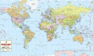 Παγκόσμια ΣΟΚ: Ο κόσμος δεν είναι έτσι όπως τον ξέρετε - Όλοι οι χάρτες είναι… λάθος! (video)