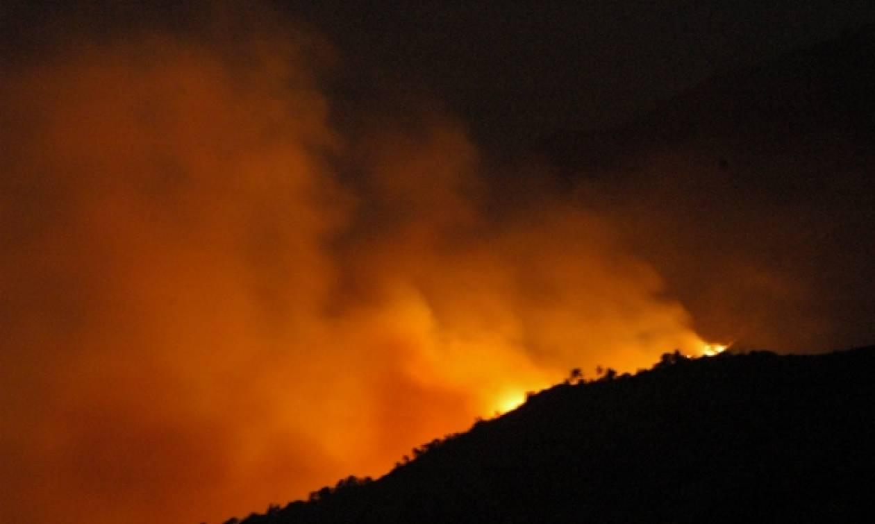 Σε ύφεση οι πυρκαγιές στο νομό Ηρακλείου