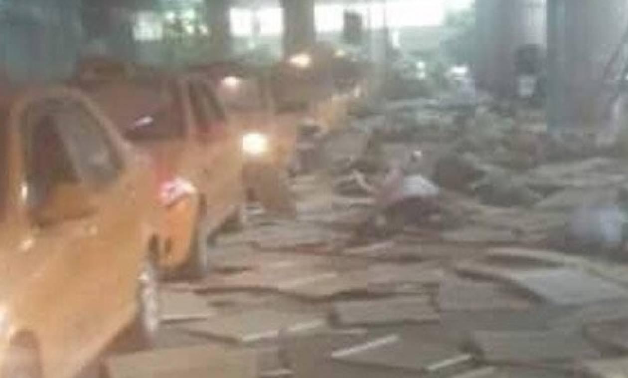 Επίθεση Κωνσταντινούπολη: Σοκαριστικά βίντεο από τις εκρήξεις στο Ατατούρκ