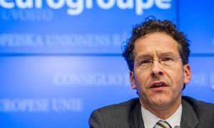«Βόμβα» Ντάισελμπλουμ: Δεν συζητάμε για πλεόνασμα και χρέος πριν το 2018