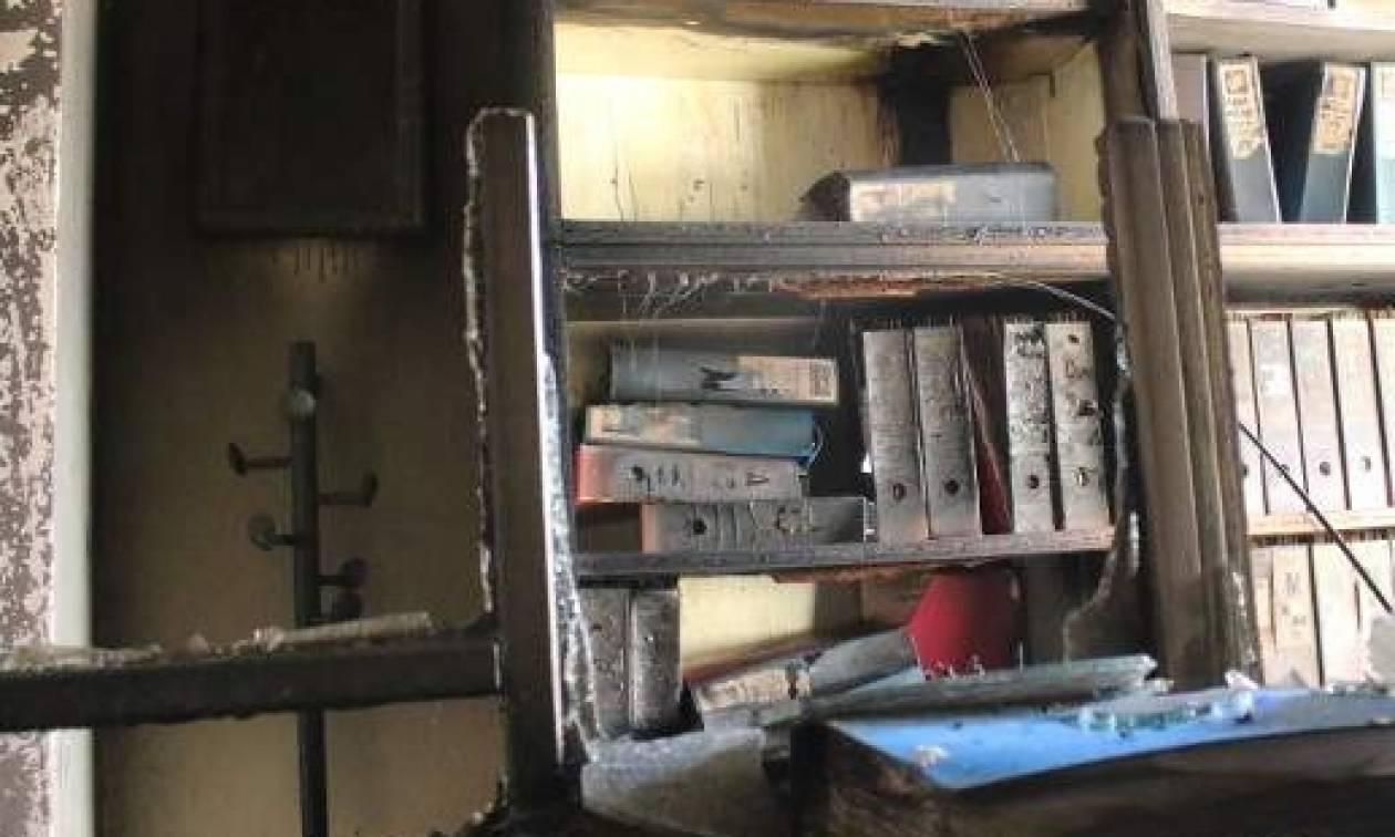 Εμπρηστική επίθεση στη διεύθυνση Μεταφορών της Αργολίδας