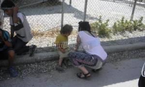 Μυτιλήνη: To Game of Thrones στο πλευρό των προσφύγων (pics)