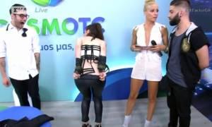 «Ξέφυγαν» στο X-Factor: Δείτε ποιος άλλος κατέβασε το παντελόνι του στον αέρα μετά τη Νωαίνα! (vid)