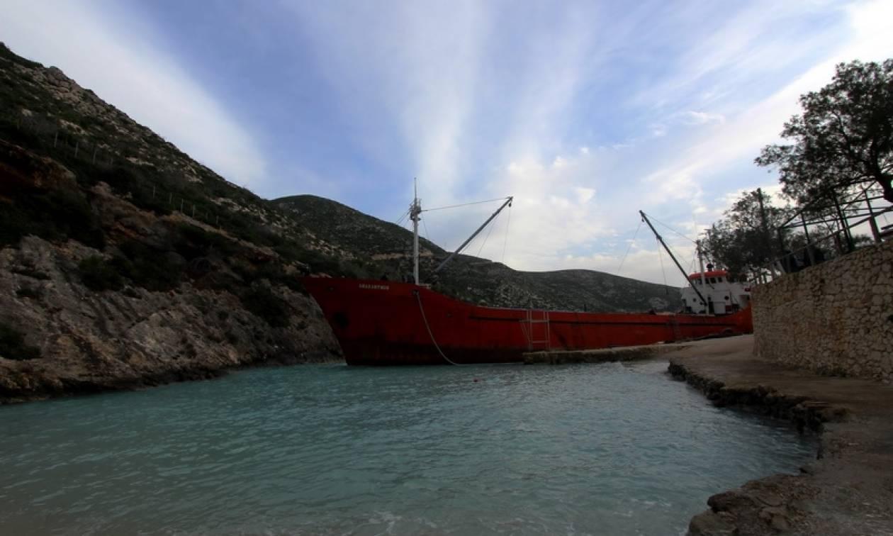 Λήμνος: Προσάραξη πλοίου σε αβαθή στη Μούδρου