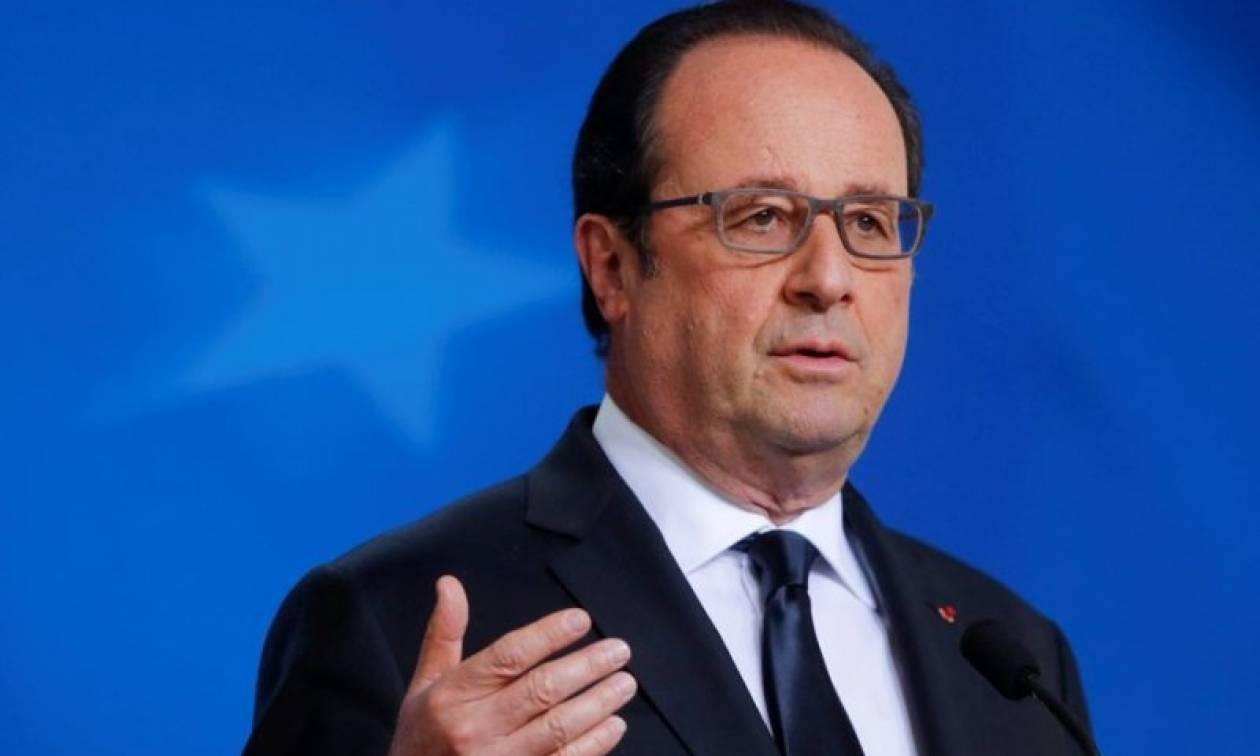Ολάντ: Όχι σε δημοψήφισμα για την παραμονή της Γαλλίας στην ΕΕ