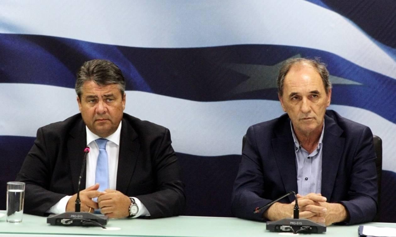 Τετ α τετ Σταθάκη - Γκάμπριελ με φόντο την «ελληνική ανάπτυξη»