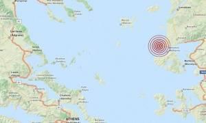 Σεισμός 3,6 Ρίχτερ βόρεια της Μυτιλήνης (pics)