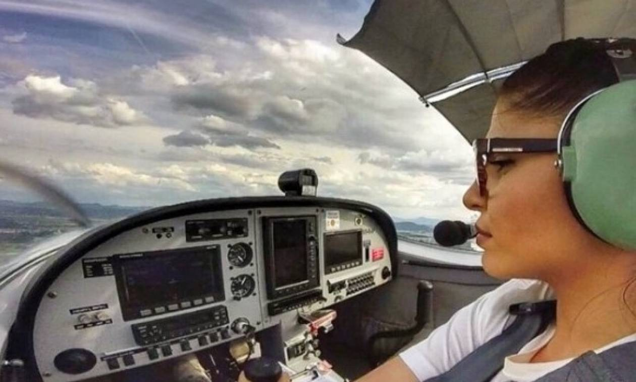 Ηράκλειο: Αυτή είναι η πιο σέξι πιλότος της χώρας! (photos)