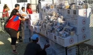 Διανομή βοήθειας στο πλαίσιο του Ραμαζανιού από το Τμήμα Ε.Ε.Σ. Μυτιλήνης