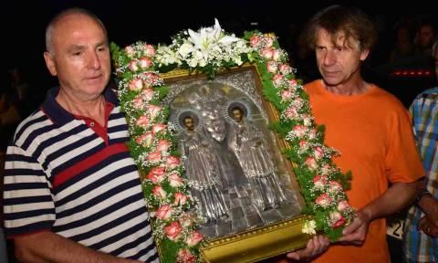 Η εορτή των Αγίων Αναργύρων στο Ναύπλιο