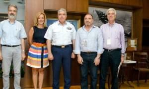 Συνάντηση του Αρχηγού ΓΕΑ με το Προεδρείο της ΠΟΕ/ΥΠΕΘΑ