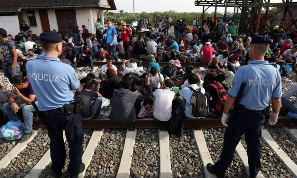 Η Κροατία υποδέχτηκε τους πρώτους 1.583 μετανάστες
