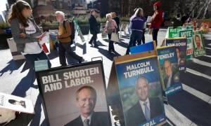 Εκλογές Αυστραλία: Αμφίρροπη η μάχη για την πρώτη θέση δείχνουν οι πρώτες δημοσκοπήσεις