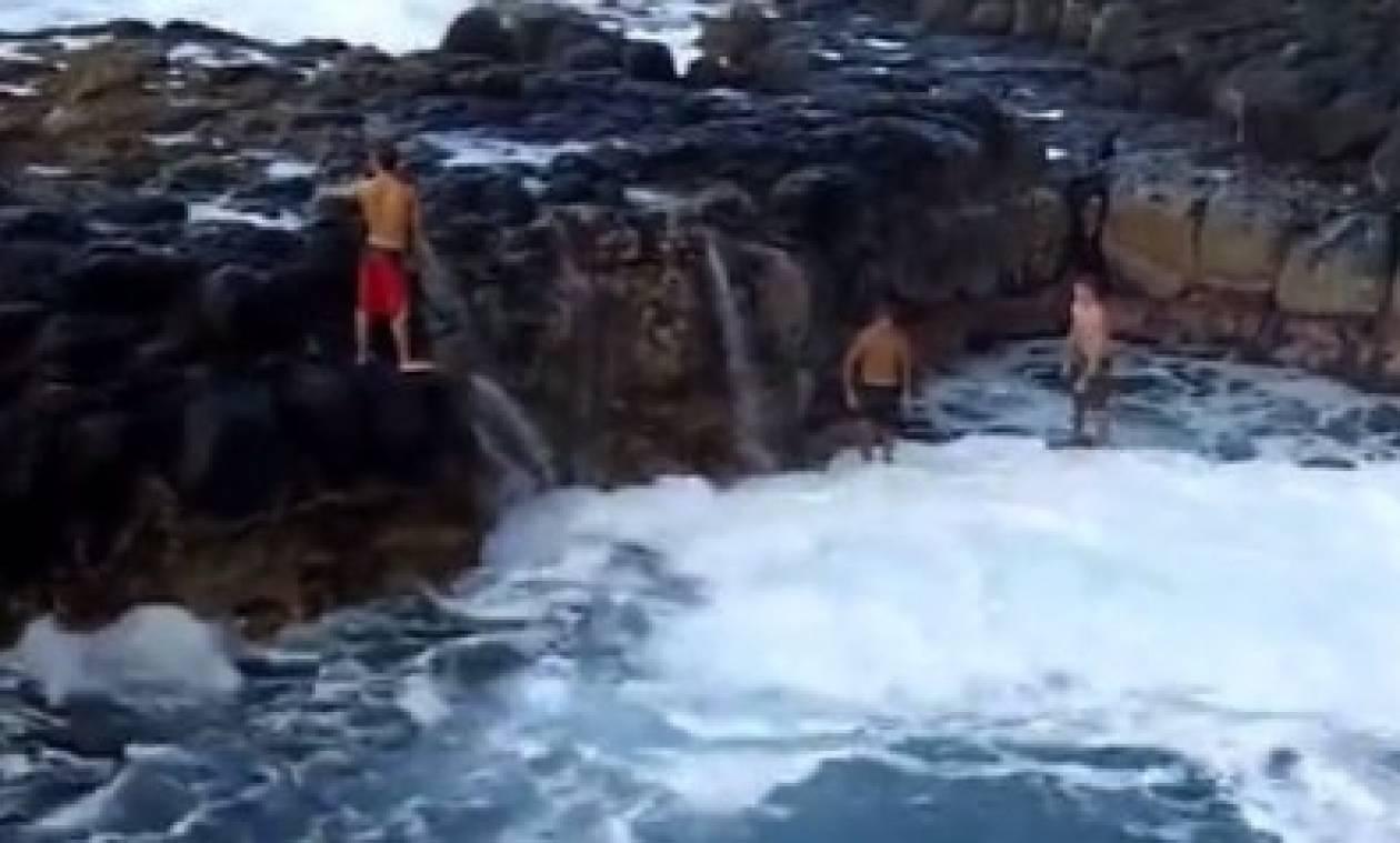 Η «λίμνη του θανάτου» - Σε αυτή την φυσική «πισίνα» μπορείς να χάσεις τη ζωή σου (video)