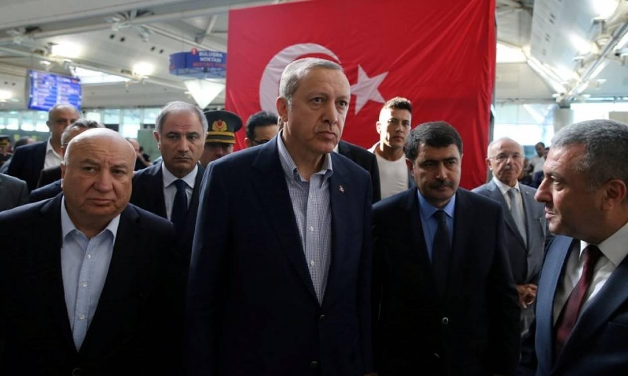 Ερντογάν: Υπό κράτηση 20 τζιχαντιστές για την επίθεση στο «Ατατούρκ»
