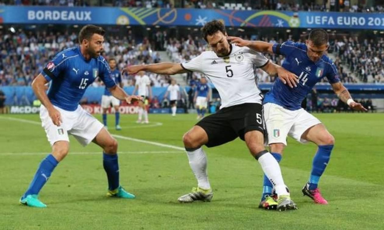 Γερμανία - Ιταλία 1-1 (6-5 πεν.): Στα ημιτελικά τα τυχερά «Πάντσερ»