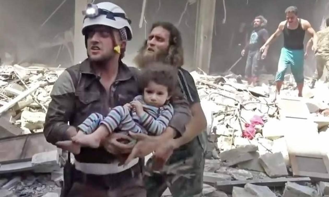 Συρία: «Σφυροκόπημα» ισλαμιστών με τουλάχιστον 43 νεκρούς κοντά στη Δαμασκό