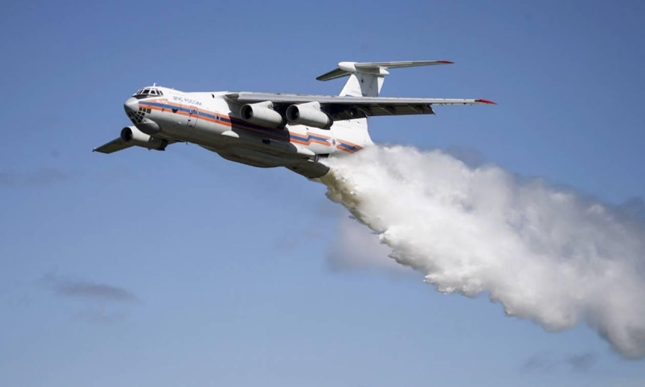 Συντριβή αεροσκάφους σε δασώδη περιοχή της Ρωσίας (Vid)