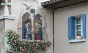 Παρεμβαίνοντας στο αστικό τοπίο: Οι γιγαντιαίες τοιχογραφίες που αλλάζουν την όψη της Γαλλίας (Pics)