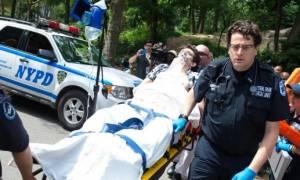 Νεαρός άνδρας ακρωτηριάστηκε από έκρηξη στο Central Park της Νέας Υόρκης