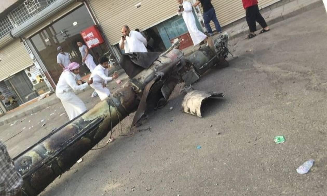 Σαουδική Αραβία: Η πολεμική αεροπορία αναχαίτισε βαλλιστικό πύραυλο (vid)