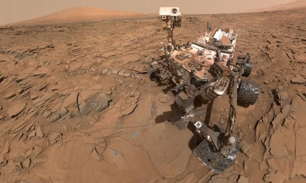 Απίστευτο: Η NASA εντόπισε… δεινόσαυρο στον πλανήτη Άρη; (video+photo)