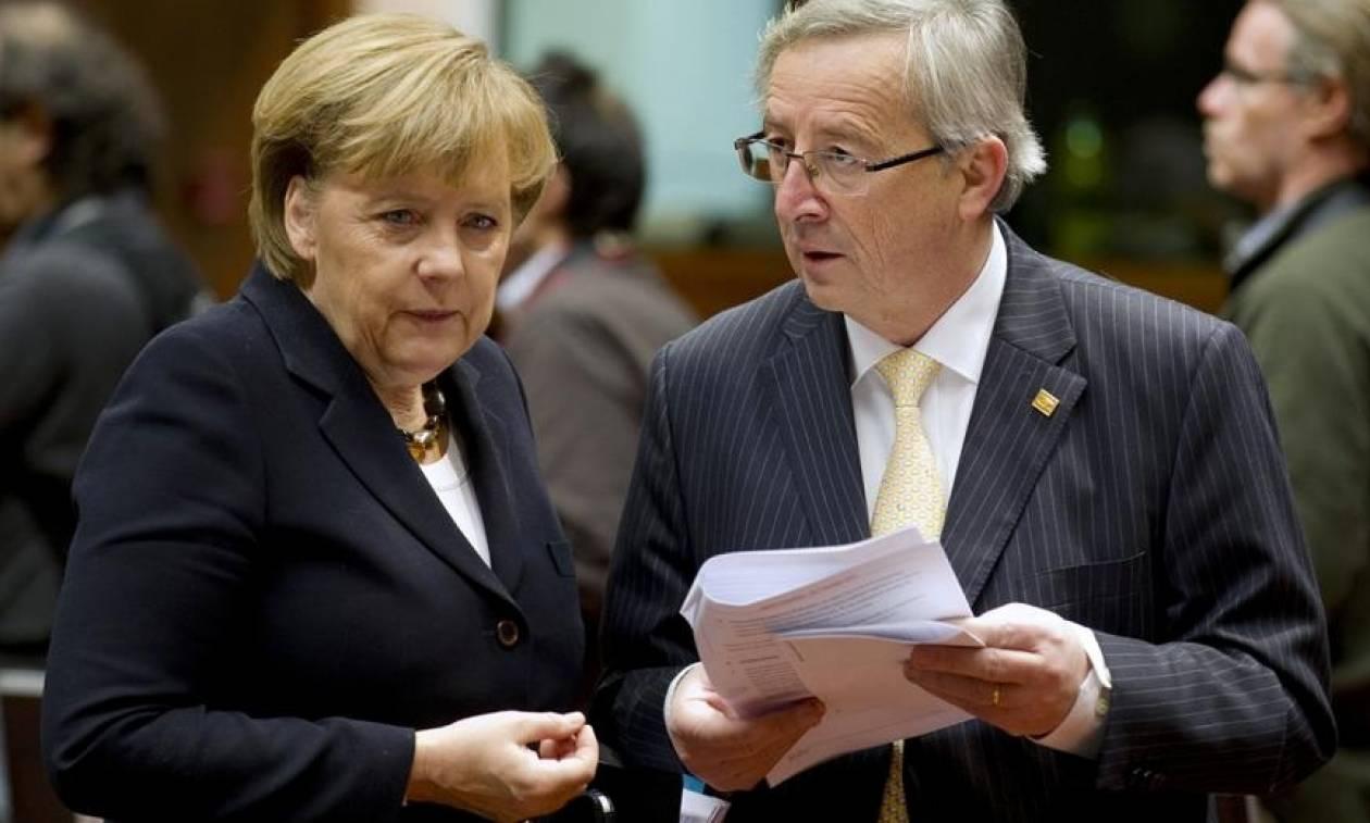 Βερολίνο: Ξορκίζει την «επιθυμία Μέρκελ» για «αποκεφαλισμό» του Γιούνκερ - Να πάρει χρόνο η Βρετανία