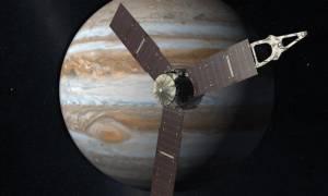 Το διαστημόπλοιο της Nasa έφτασε στον Δία για την ιστορική αποστολή! (vid)
