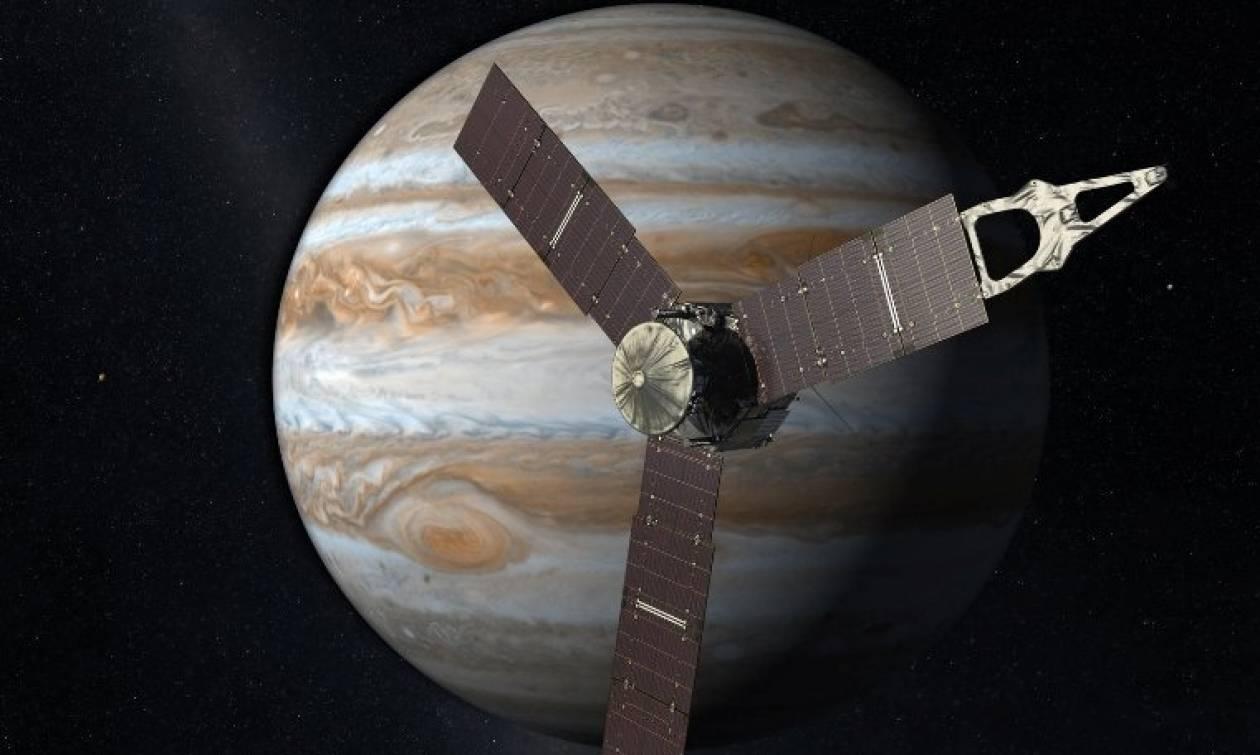 Διαστημόπλοιο Τζούνο: Live εικόνα από τη NASA - 5 χρόνια μετά σε τροχιά γύρω από τον Δία!
