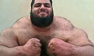 Ο πραγματικός Hulk ζει στο Ιράν και απειλεί το Ισλαμικό Κράτος! (photos)