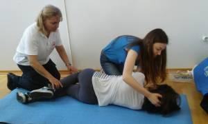 ΕΕΣ: Μάθημα Πρώτων Βοηθειών σε φοιτητές της Ιατρικής Σχολής Ιωαννίνων