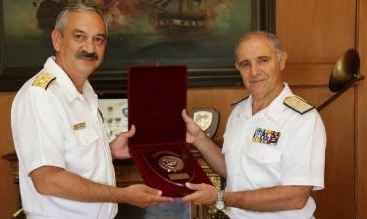 Επίσημη Επίσκεψη Αρχηγού Πολεμικού Ναυτικού Ρουμανίας στην Ελλάδα