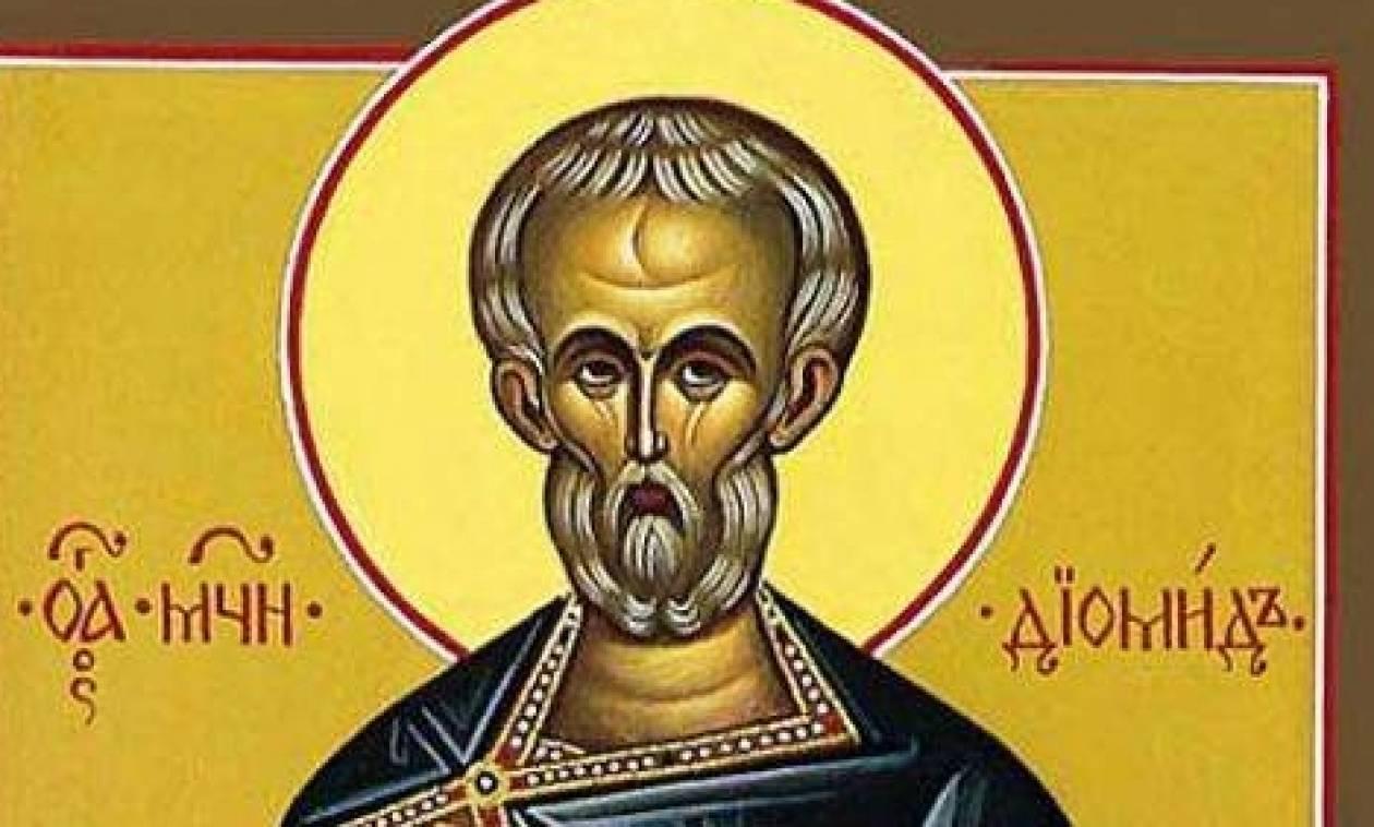 Εορτή του Αγίου Διομήδη