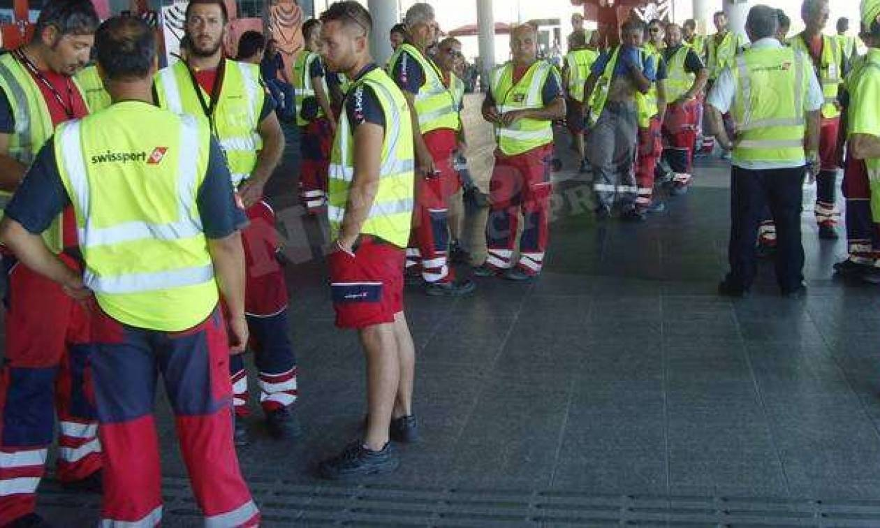 Στάση εργασίας στο αεροδρόμιο Πάφου – Δείτε φωτογραφίες