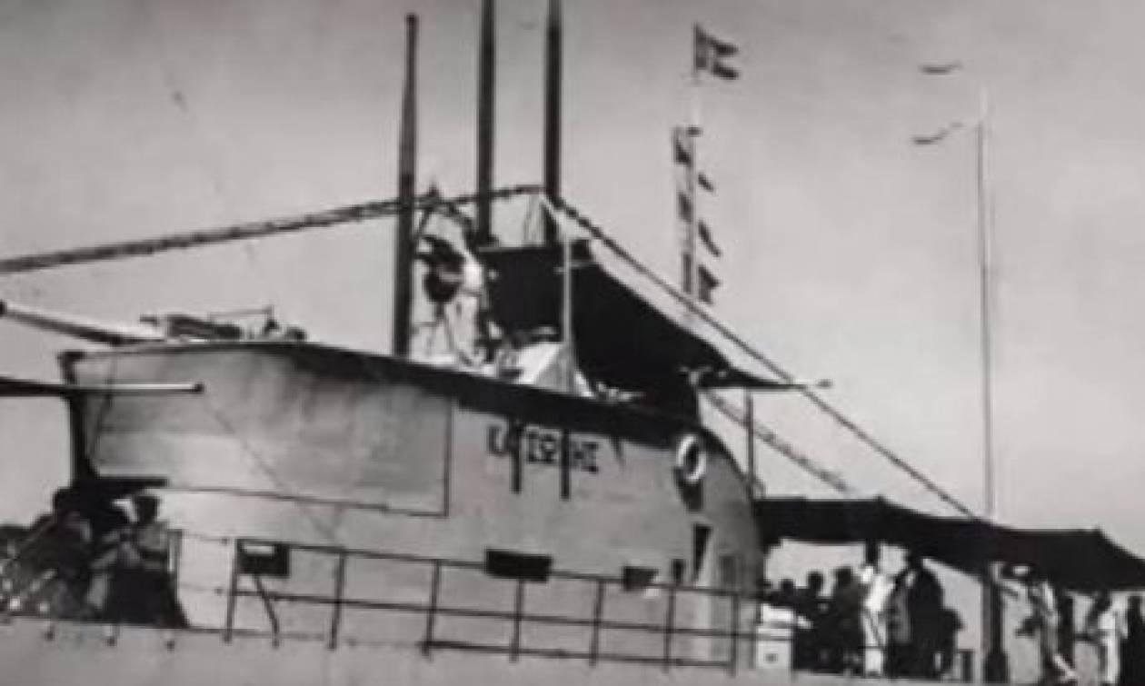 Εντοπίστηκε μετά από 73 χρόνια το υποβρύχιο «Κατσώνης»