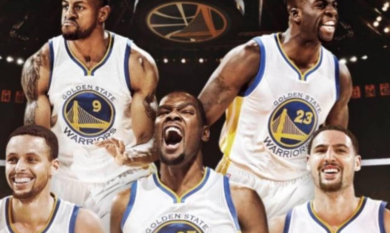 Φτιάξε τη δική σου ΥΠΕΡΟΜΑΔΑ που θα νικήσει τους Warriors!